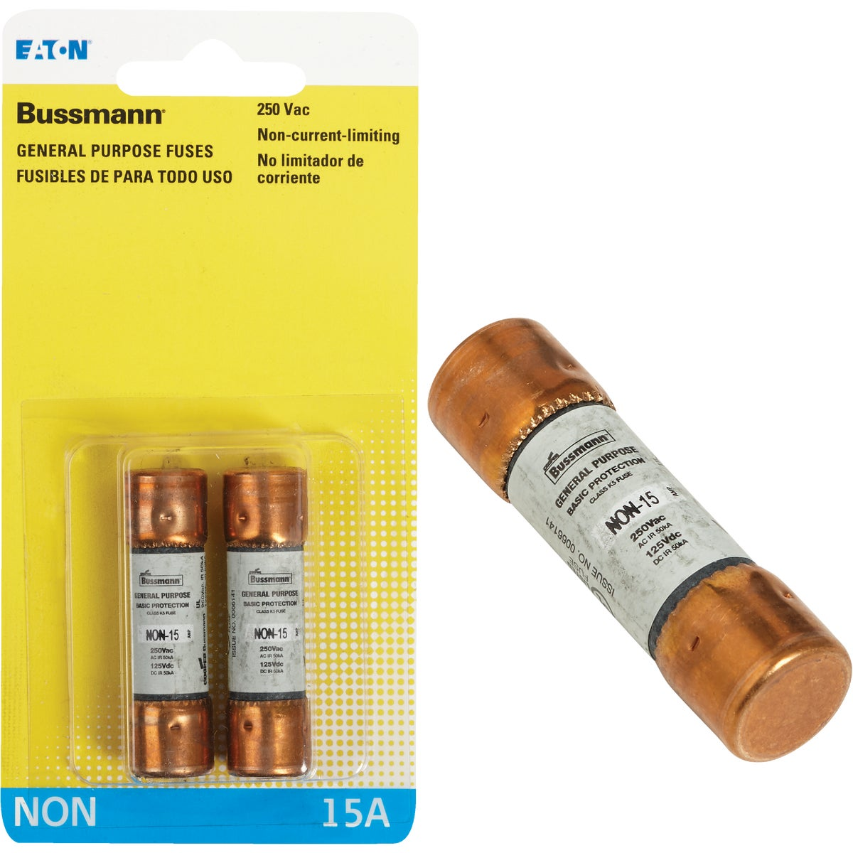 15A FAST ACTING FUSE