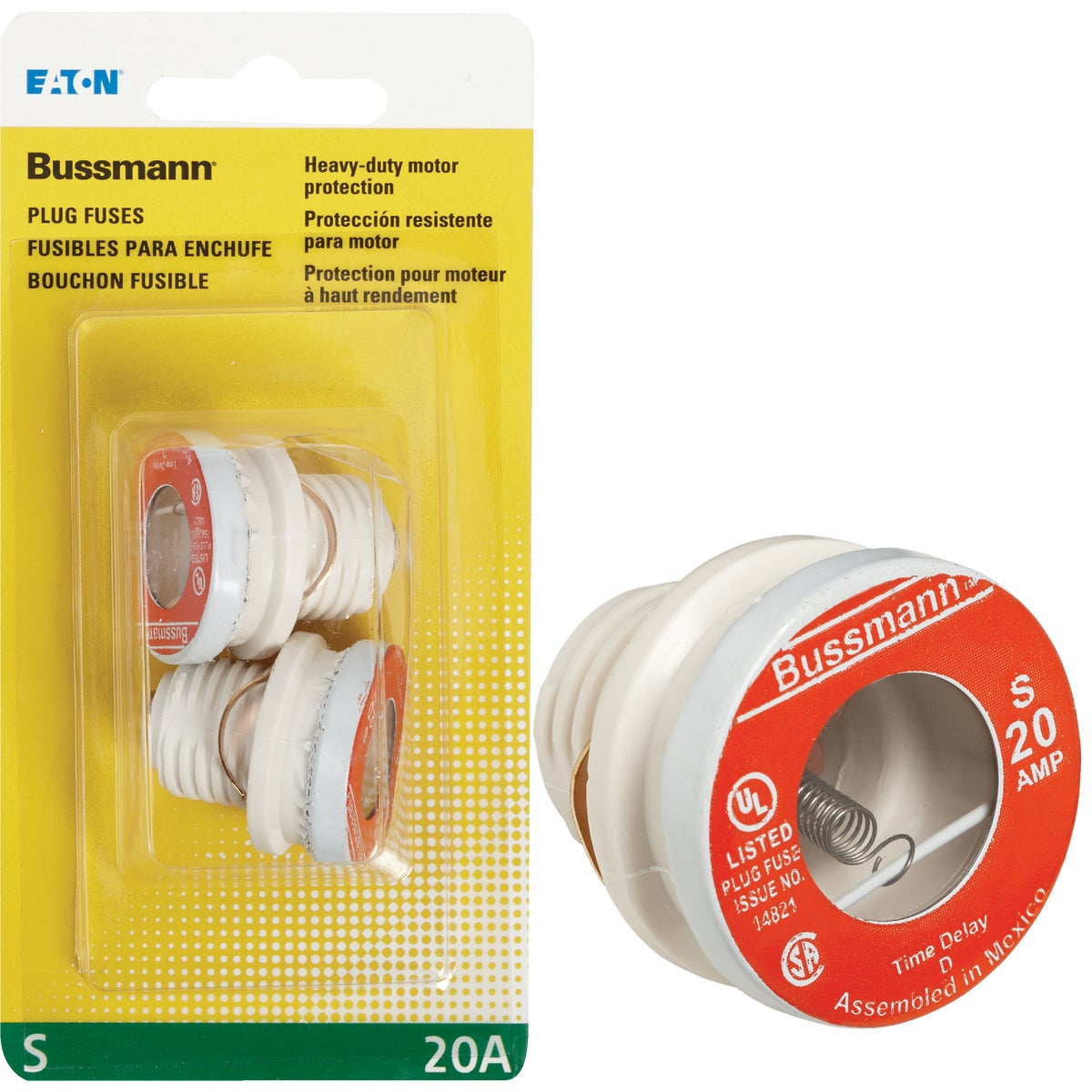 20A HEAVY DUTY PLUG FUSE
