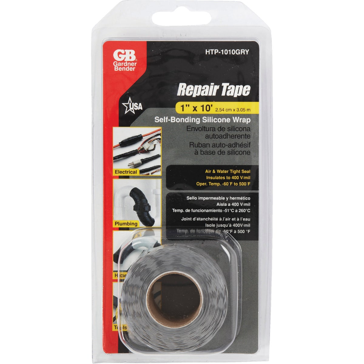 GRY SILICONE REPAIR TAPE