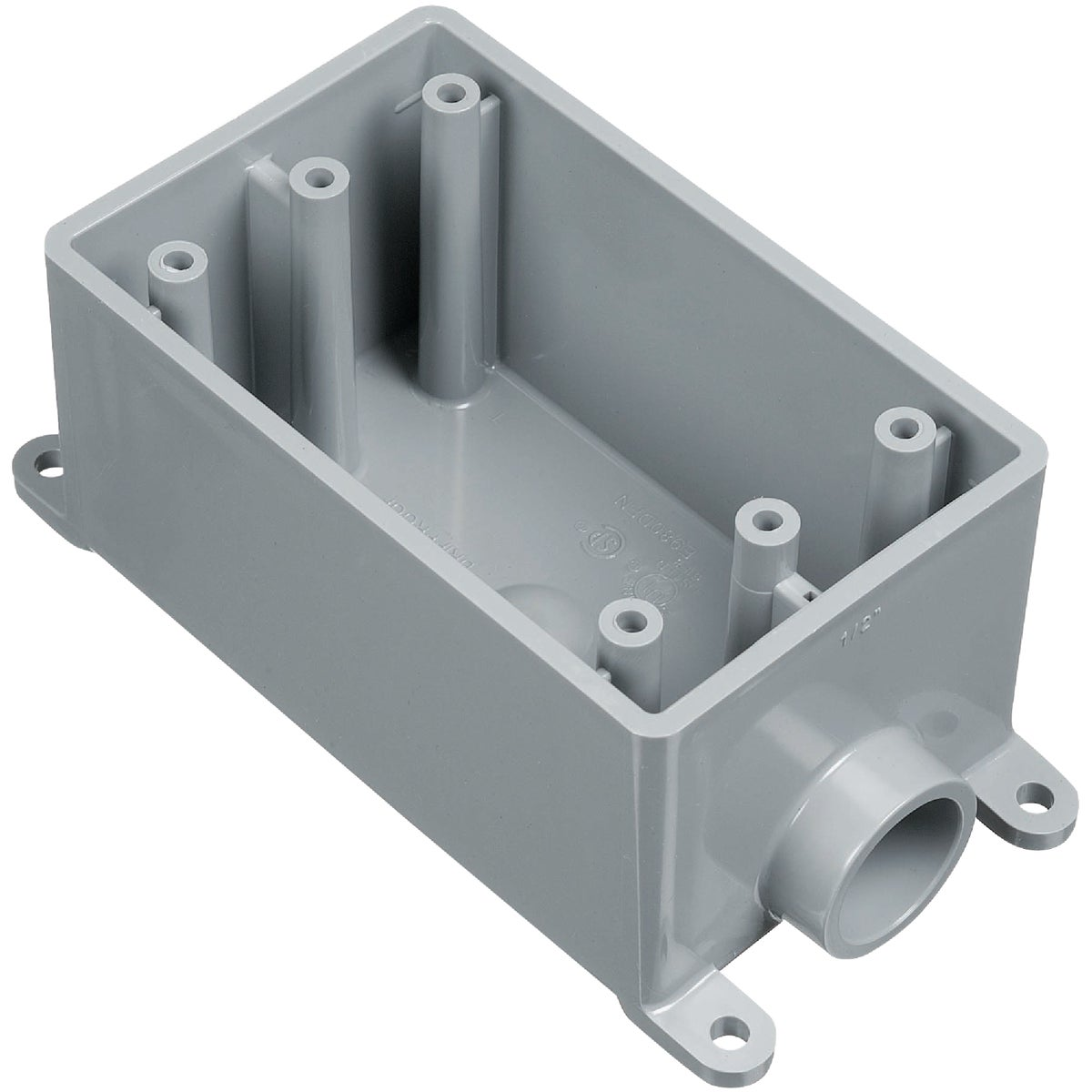 Thomas & Betts Dead-End Termination Outlet Box