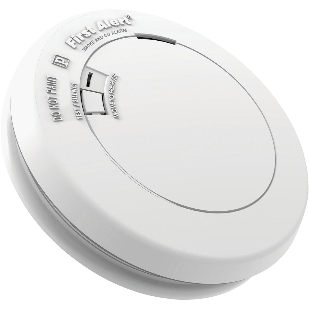 1st Alert 10-Yr Sealed Battery Photoelectric/Electrochemical Slim Round Carbon Monox. & Smoke Alarm