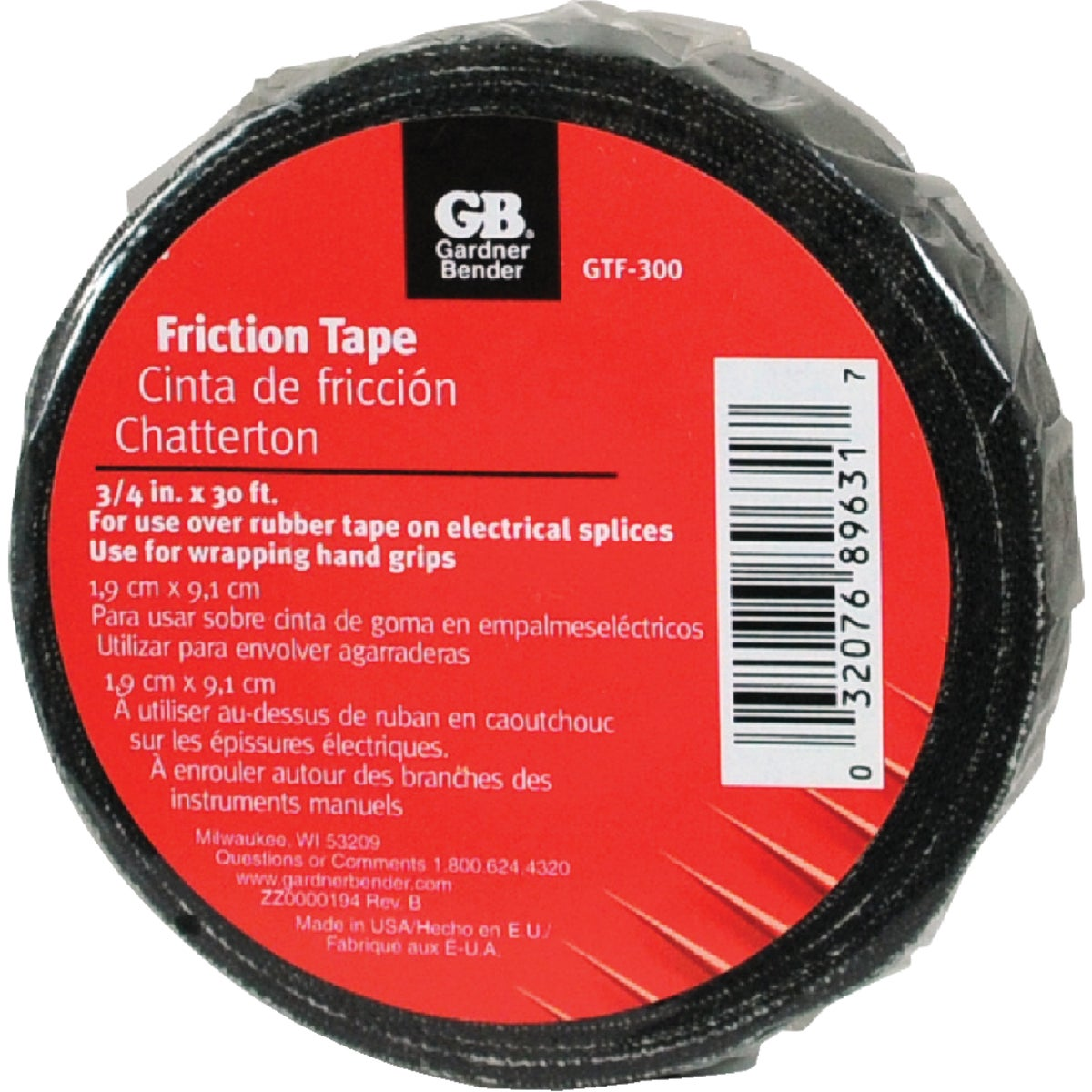 3/4X30' FRICTION TAPE
