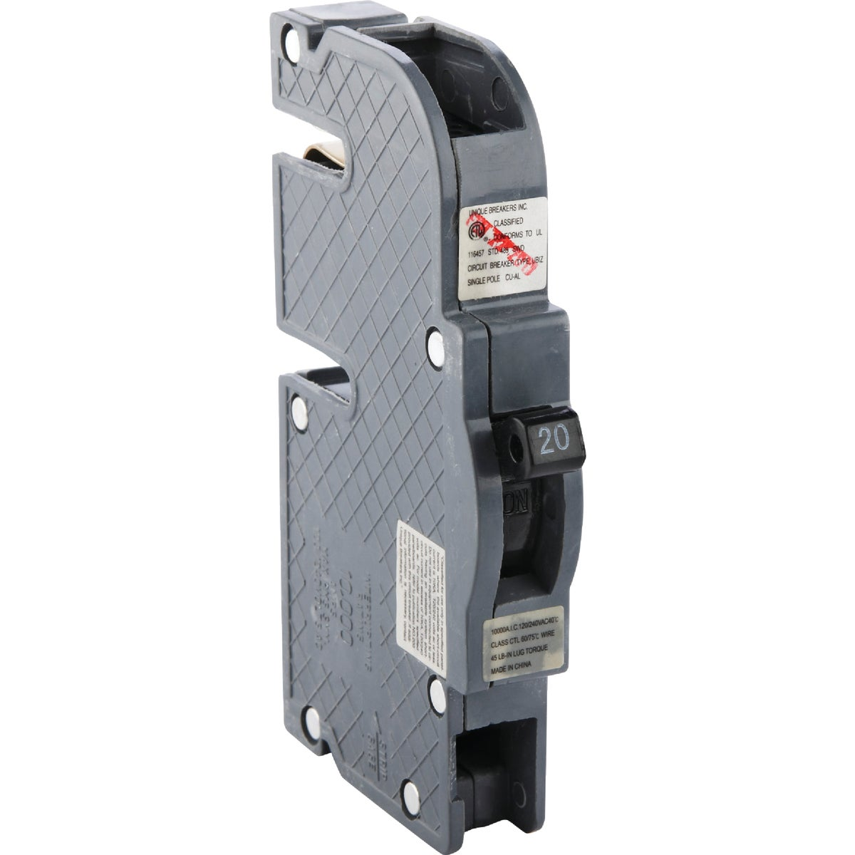 20A SP CIRCUIT BREAKER - UBIZ20 by Connecticut Electric