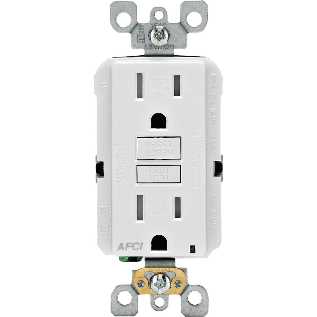 Leviton Smartlockpro Arc Fault Duplex Outlet