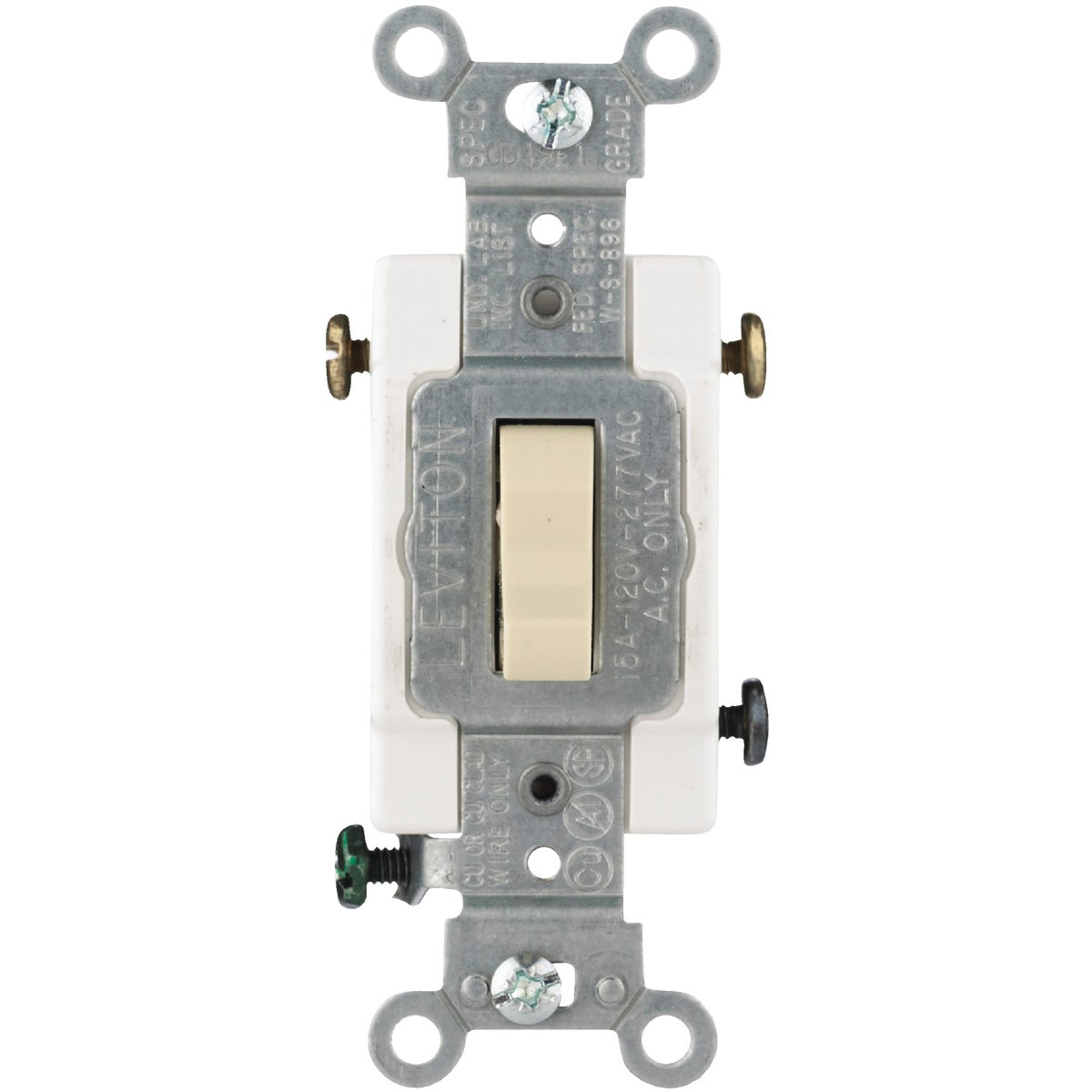 IV 3-WAY GRND SWITCH - S01-CS315-2IS by Leviton Mfg Co