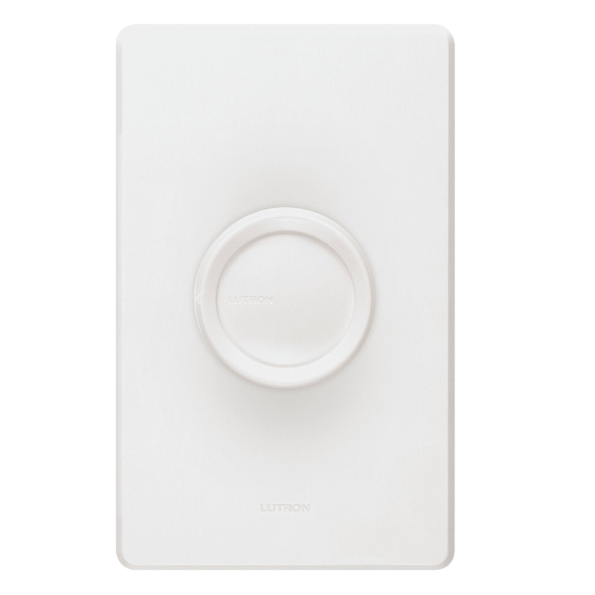 WHT/IV PUSH ON 3W DIMMER - D-603PH-DK by Lutron Elect Co Inc