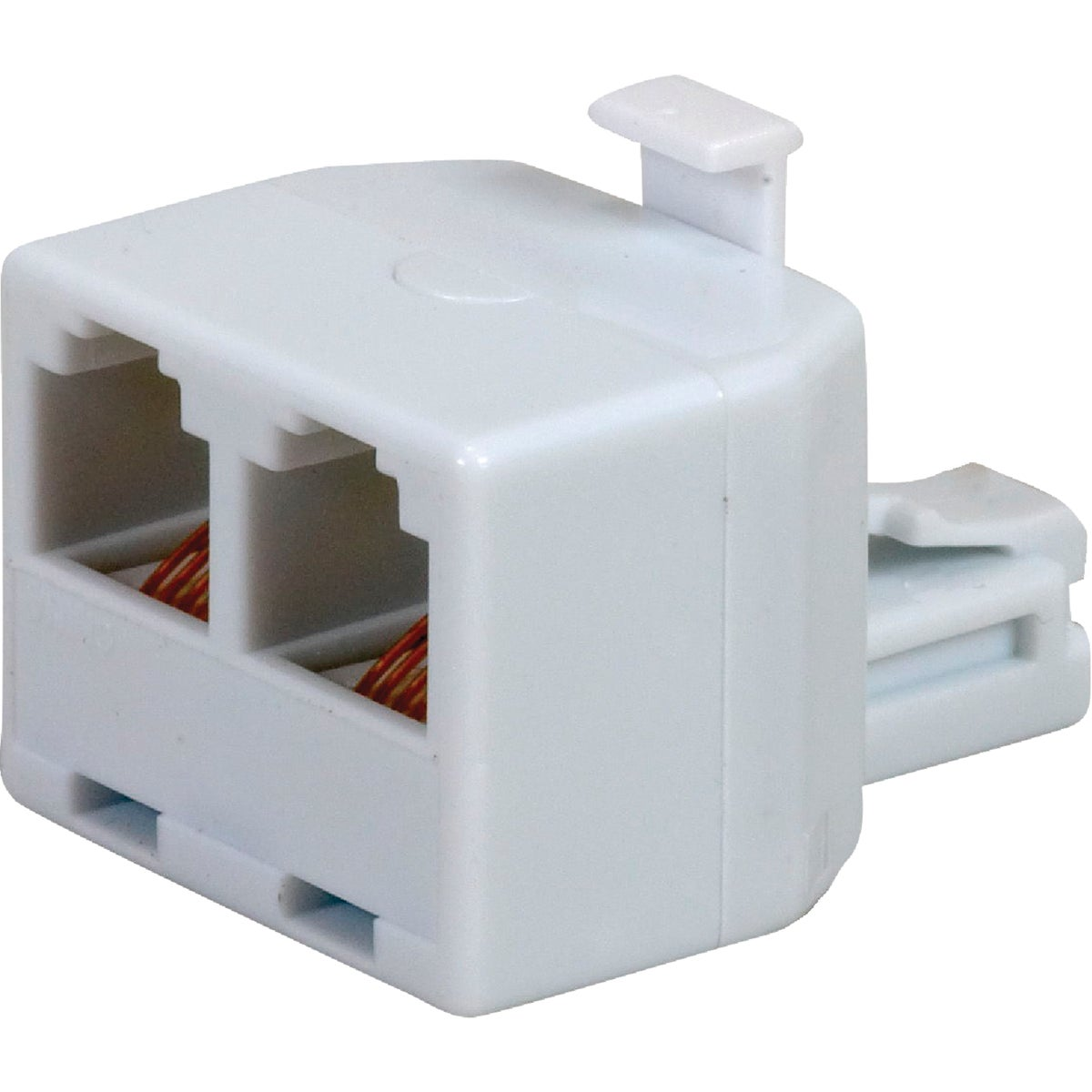 WHITE DUPLEX ADAPTER