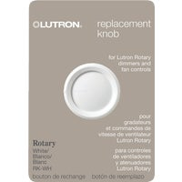 Lutron WHT ROTARY DIMMER KNOB RK-WH