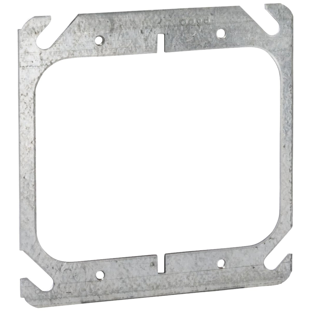 "4"" SQ 2-DEVICE COVER - 52C00 by Thomas & Betts"