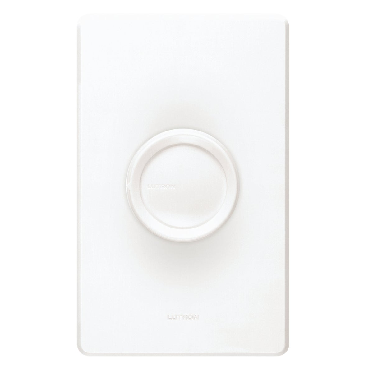 WHT/IV ROTARY DIMMER - D-600PH-DK by Lutron Elect Co Inc