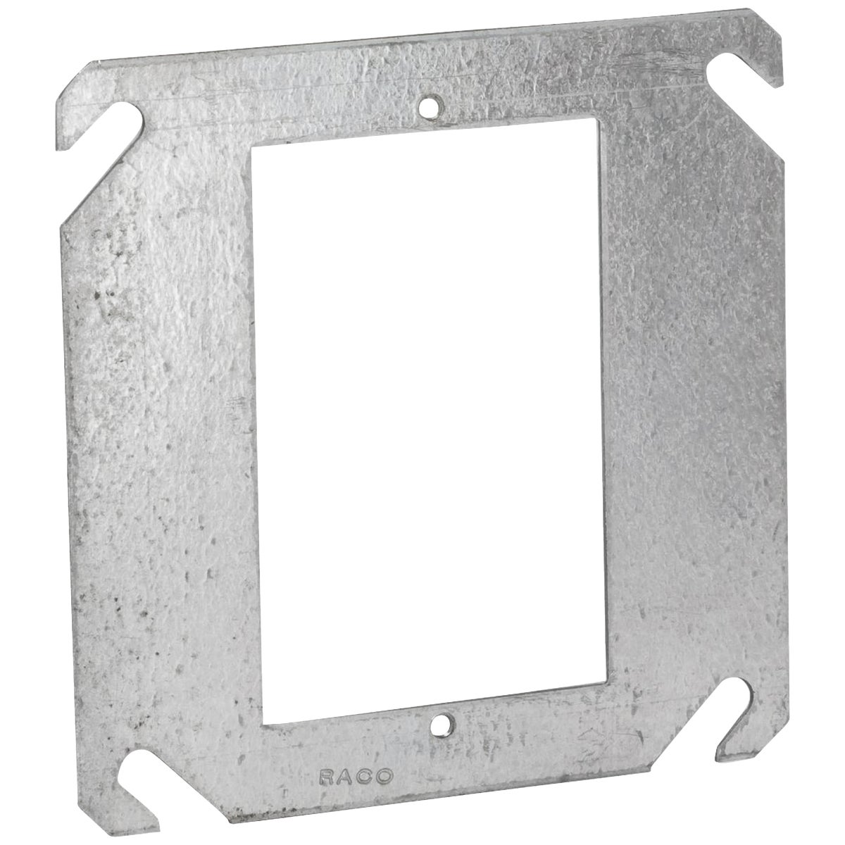 "4"" SQ 1-DEVICE COVER - 52C0 by Thomas & Betts"