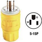 Leviton Wetguard Cord Plug