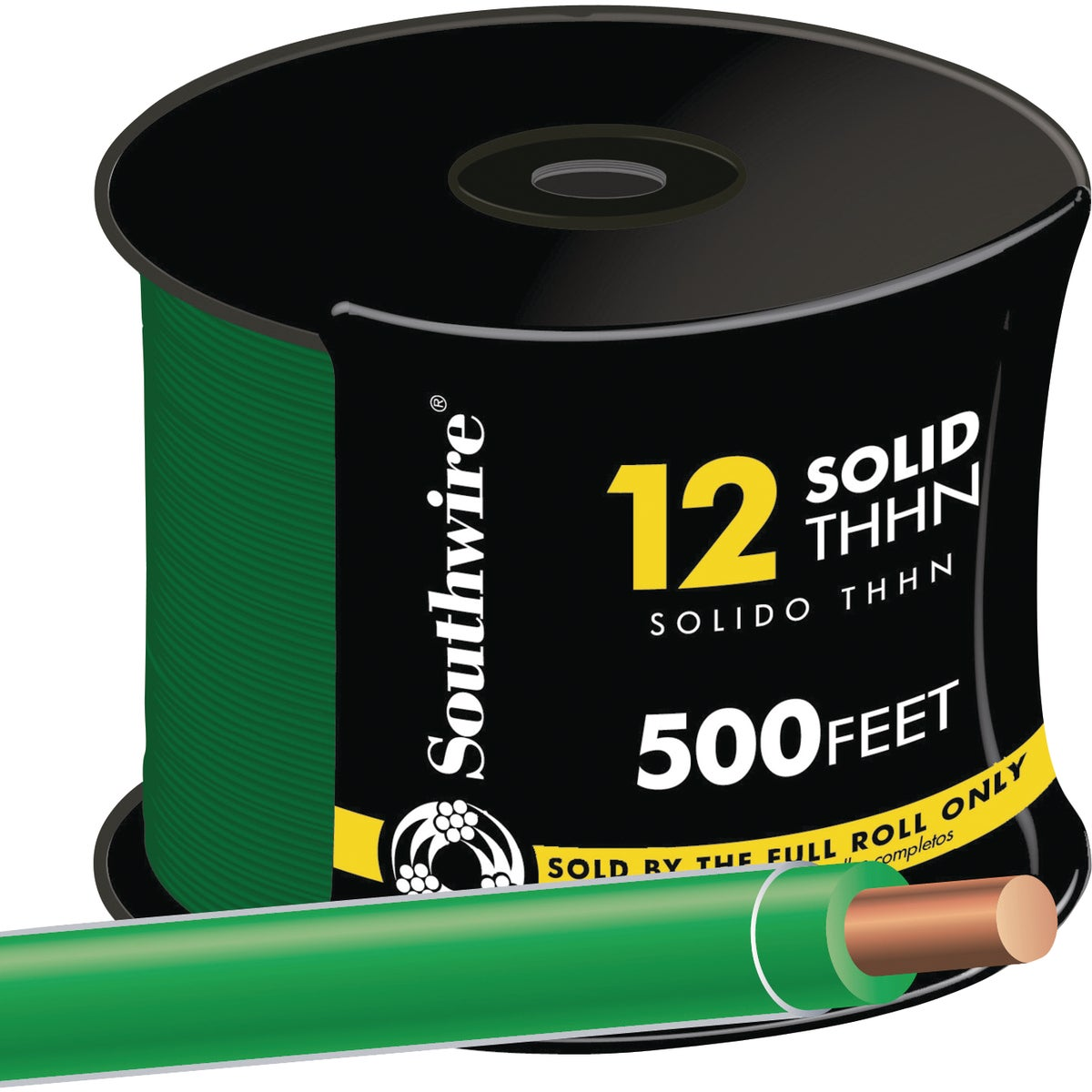 500' 12SOL GRN THHN WIRE - 11591558 by Southwire Company