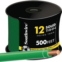 Southwire 500' 12SOL GRN THHN WIRE 11591557