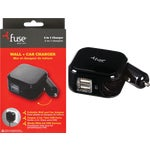 Fuse Car & Wall USB Charger