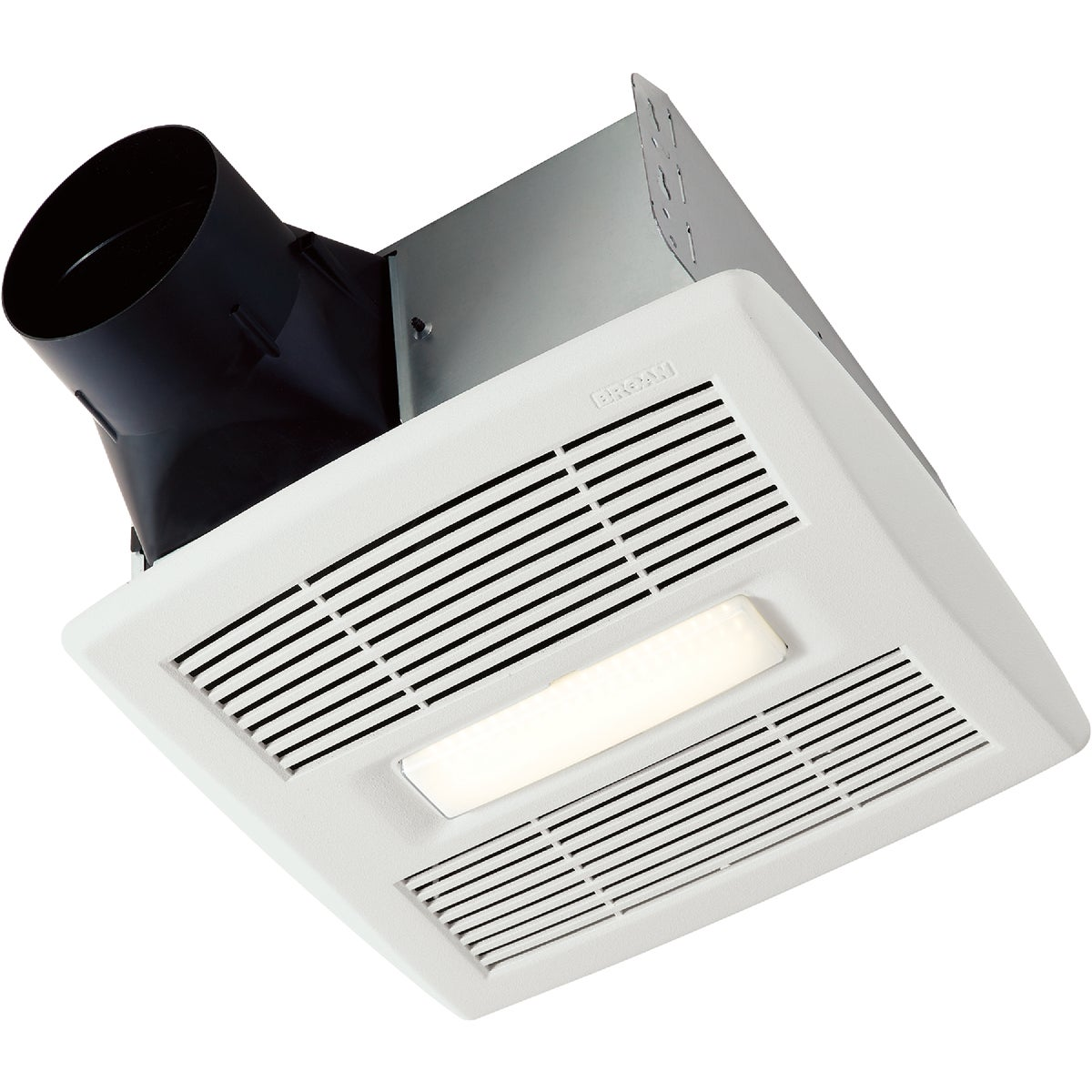 Broan 80 CFM ENERGY STAR Fluorescent Light/Night Light Bath Exhaust Fan, AE80L
