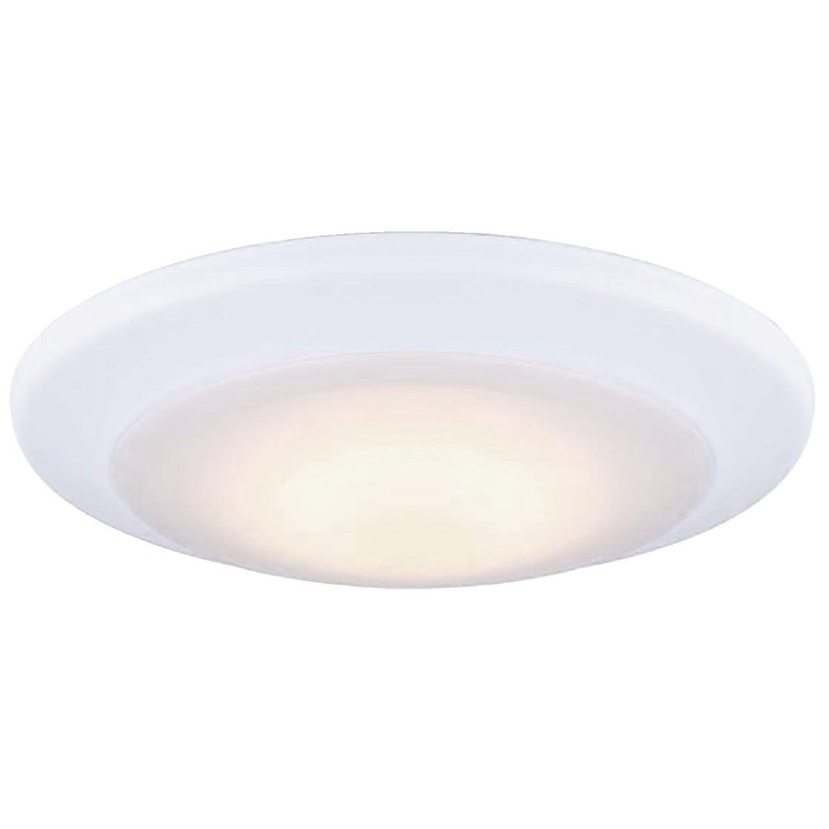 Canarm 6 In. White LED Disc Flush Mount Light Fixture