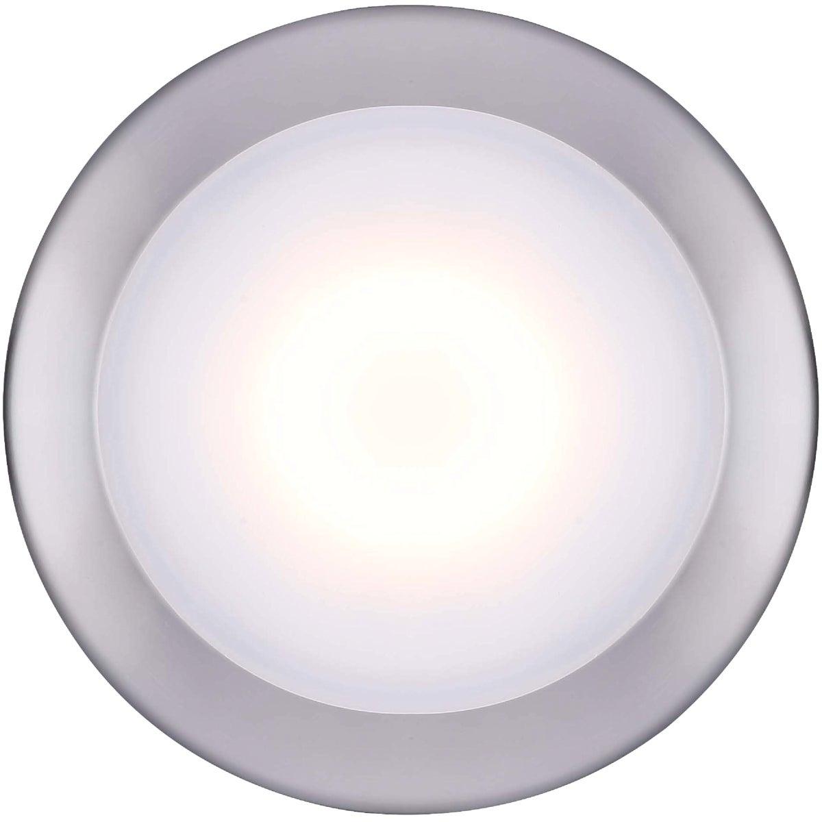 Canarm 6 In. Brushed Nickel LED Disc Flush Mount Light Fixture