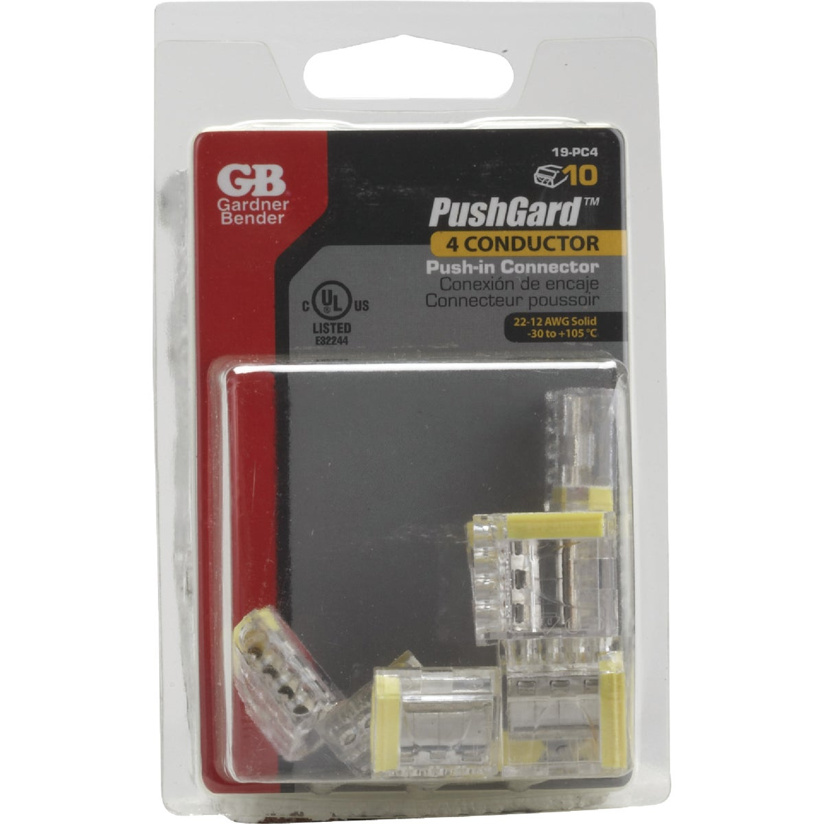 4-PORT INSURE CONNECTOR - 19-PC4 by G B Electrical Inc