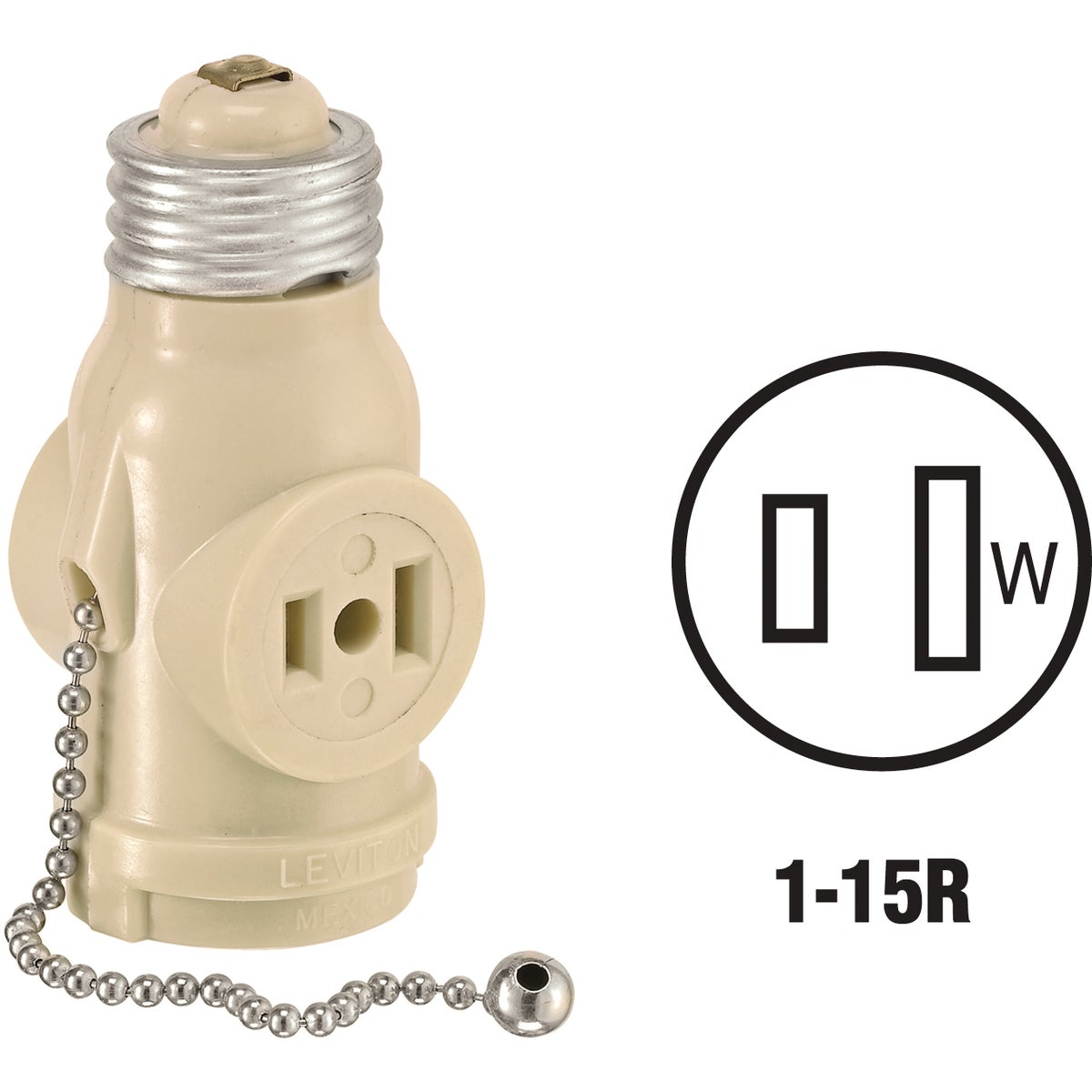 IV SOCKET ADAPTER - 0081406I by Leviton Mfg Co
