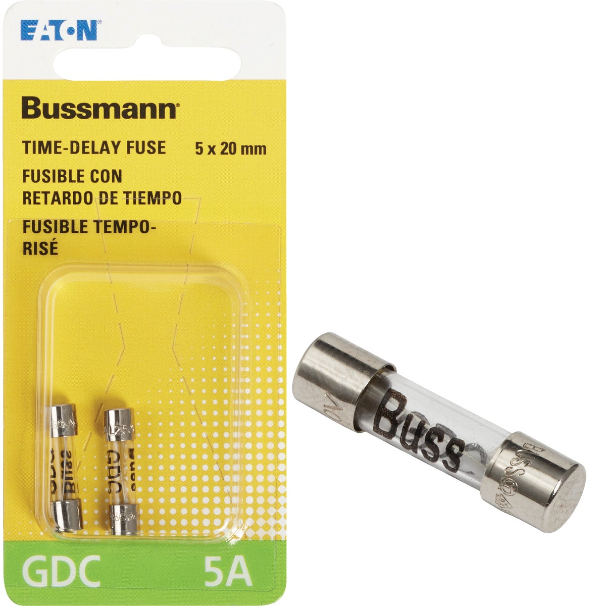 5A CARTRIDGE FUSE - BP/GDC-5A by Bussmann Cooper
