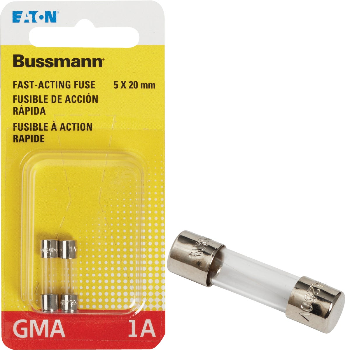 1A FAST ACTING FUSE - BP/GMA-1A by Bussmann Cooper