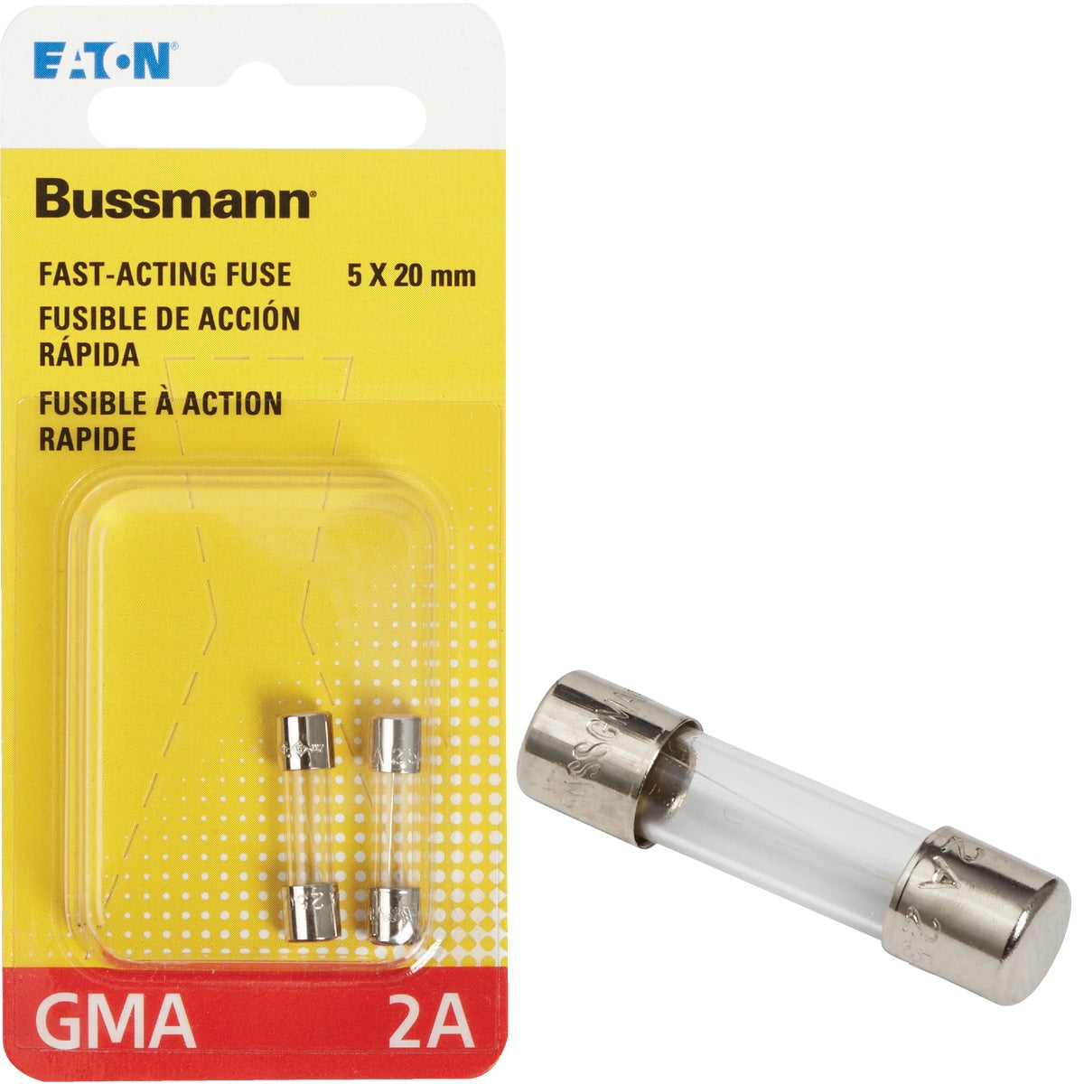 2A FAST ACTING FUSE - BP/GMA-2A by Bussmann Cooper