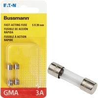 Bussmann 3A FAST ACTING FUSE BP/GMA-3A