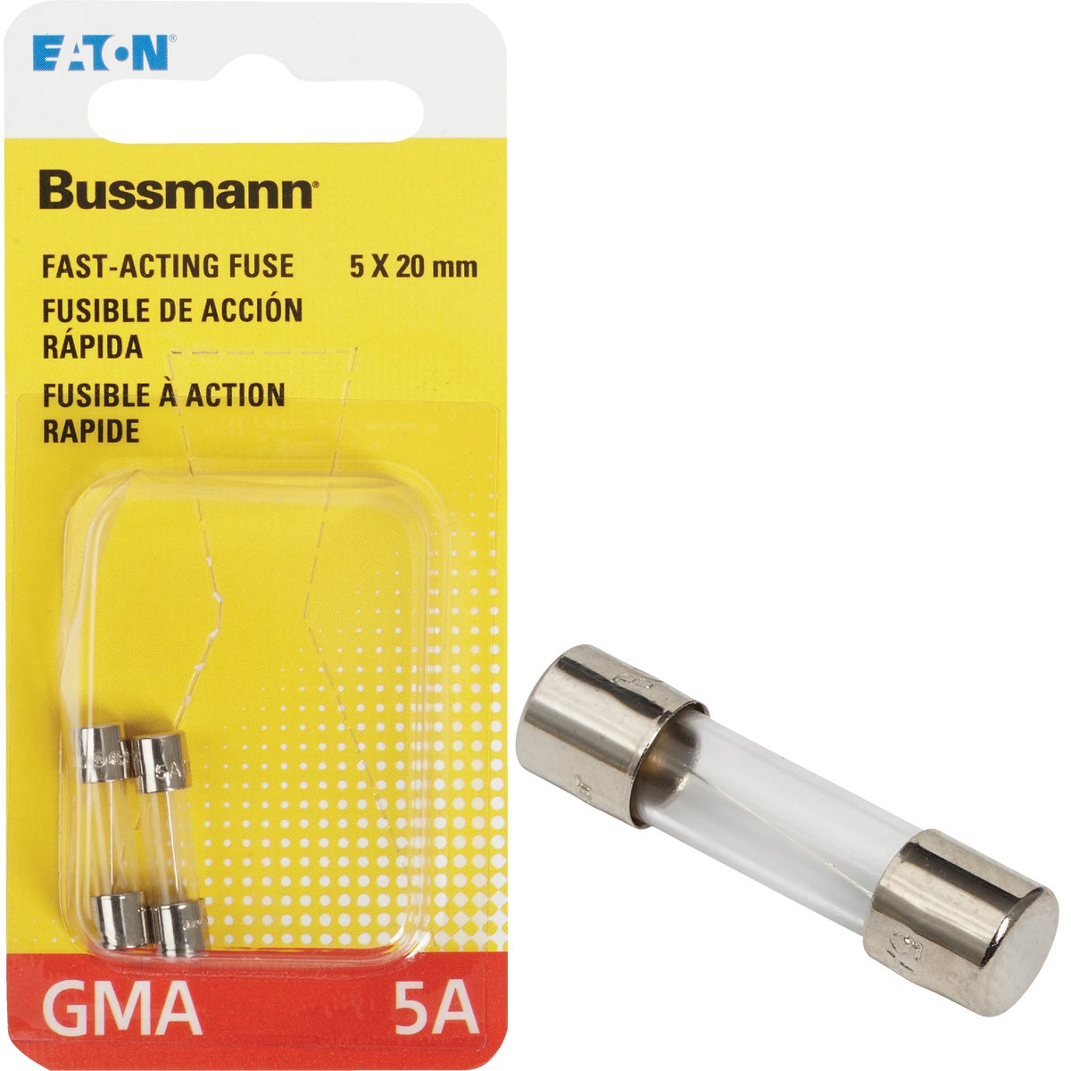 5A FAST ACTING FUSE - BP/GMA-5A by Bussmann Cooper