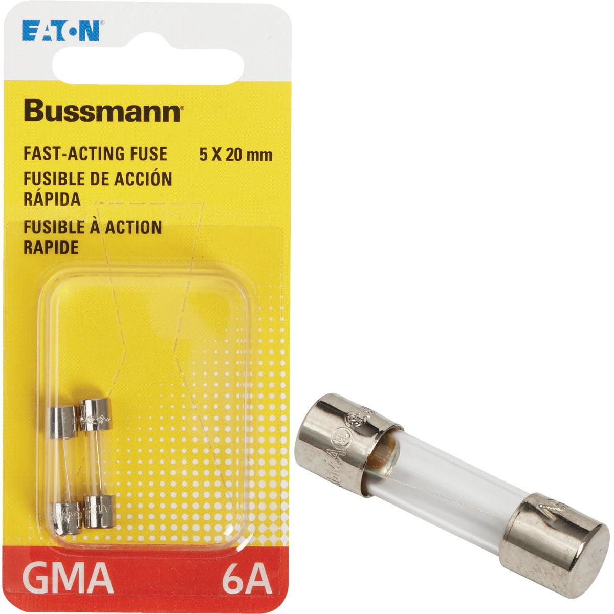 6A FAST ACTING FUSE - BP/GMA-6A by Bussmann Cooper