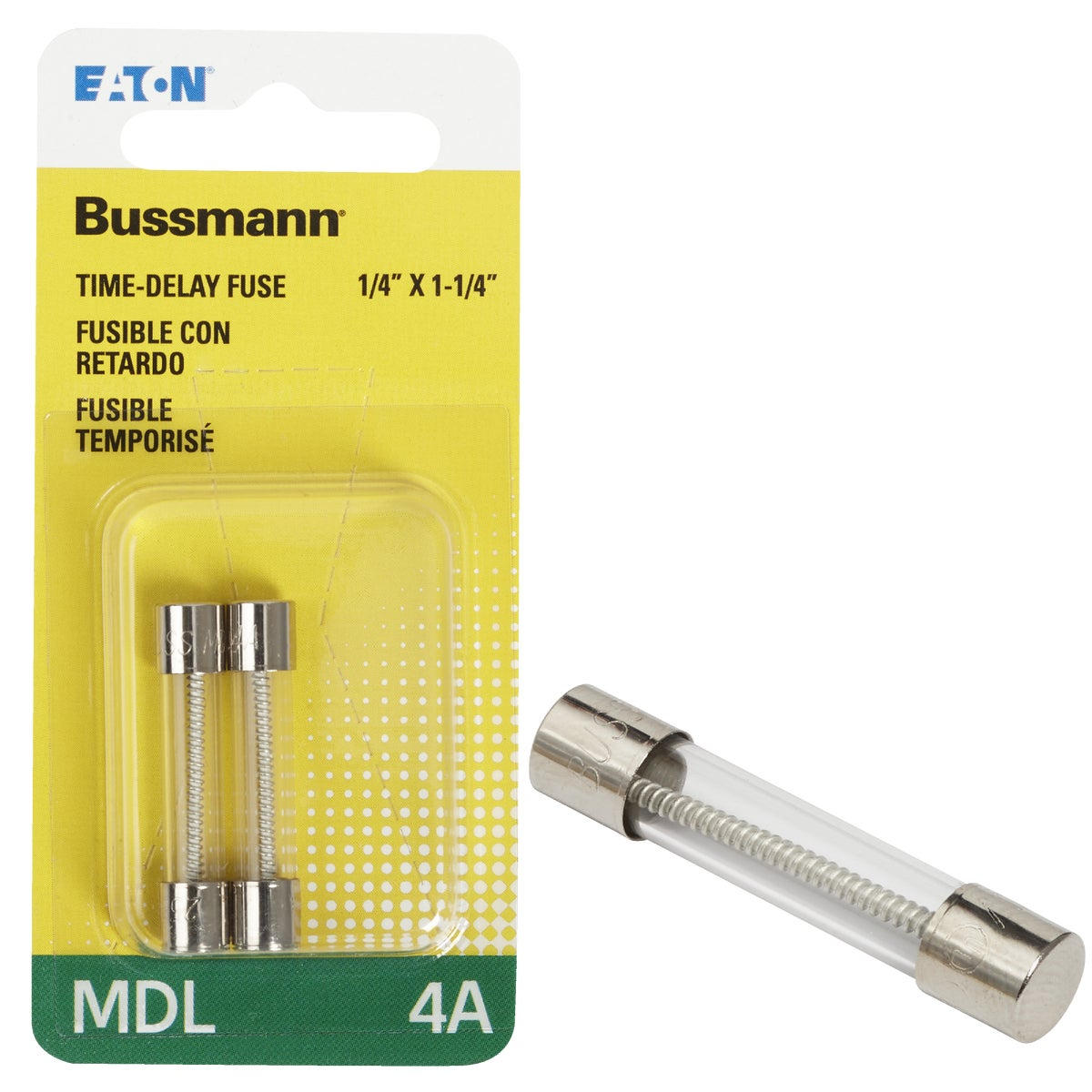 4A ELECTRONIC FUSE - BP/MDL-4 by Bussmann Cooper