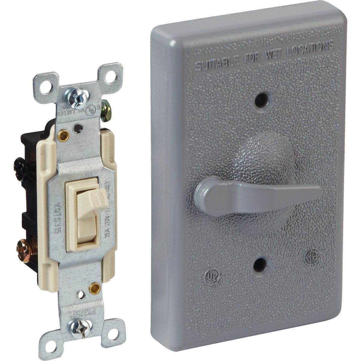 Bell 3-Way Outdoor Switch Cover