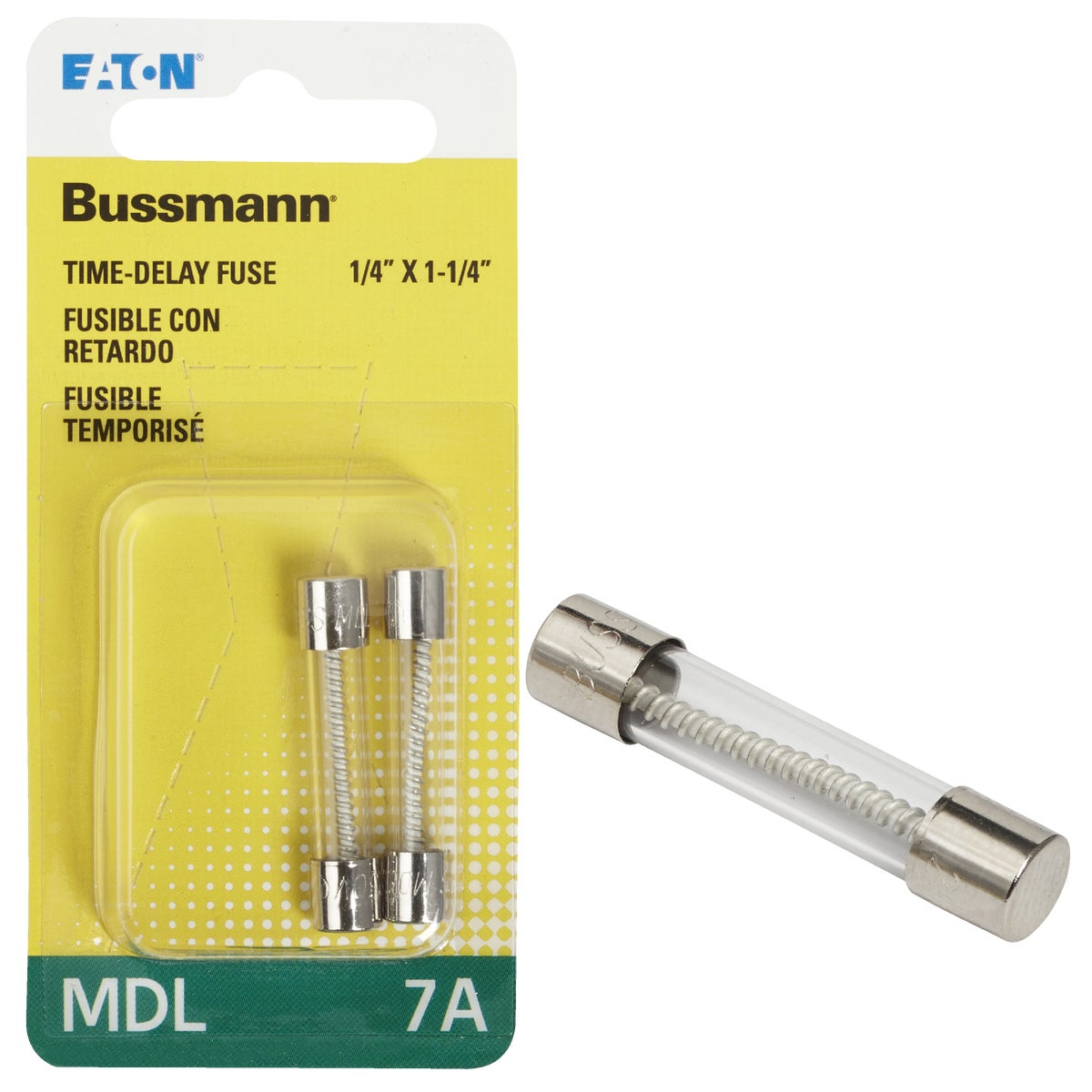7A ELECTRONIC FUSE - BP/MDL-7 by Bussmann Cooper