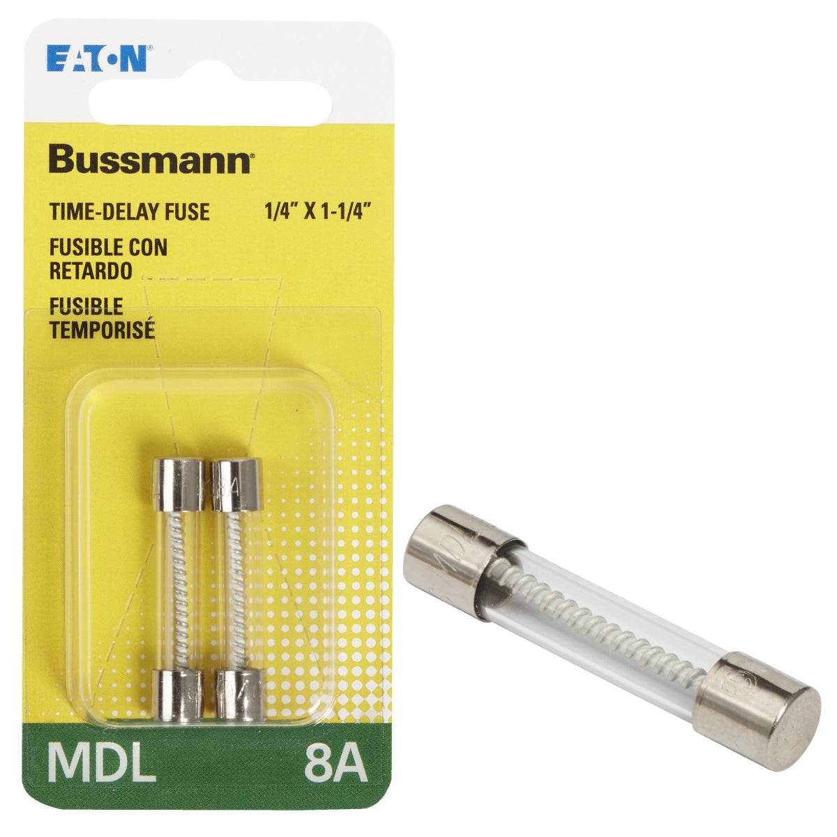 8A ELECTRONIC FUSE - BP/MDL-8 by Bussmann Cooper