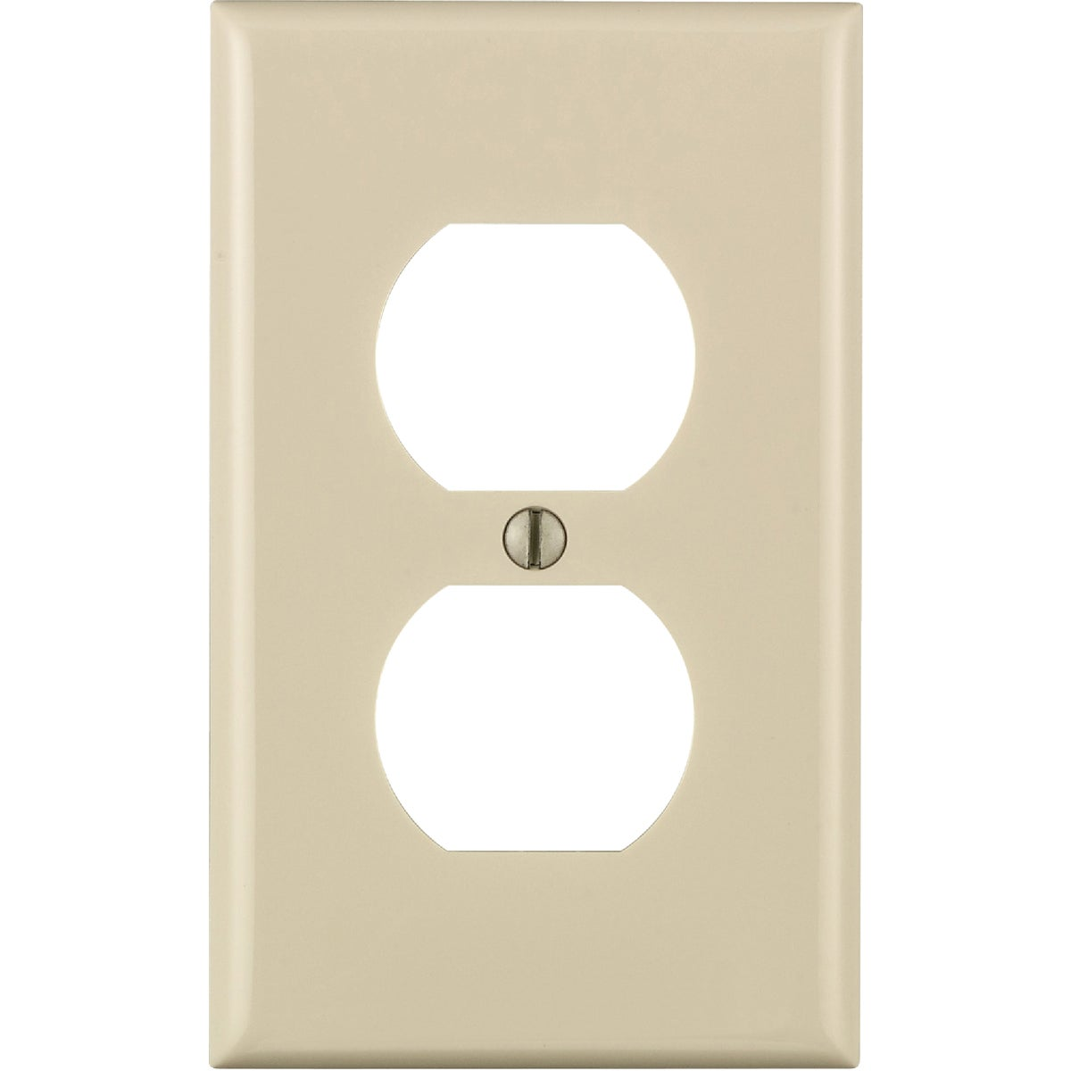 LT ALM DUPLEX WALLPLATE - 024-80703-ONT by Leviton Mfg Co