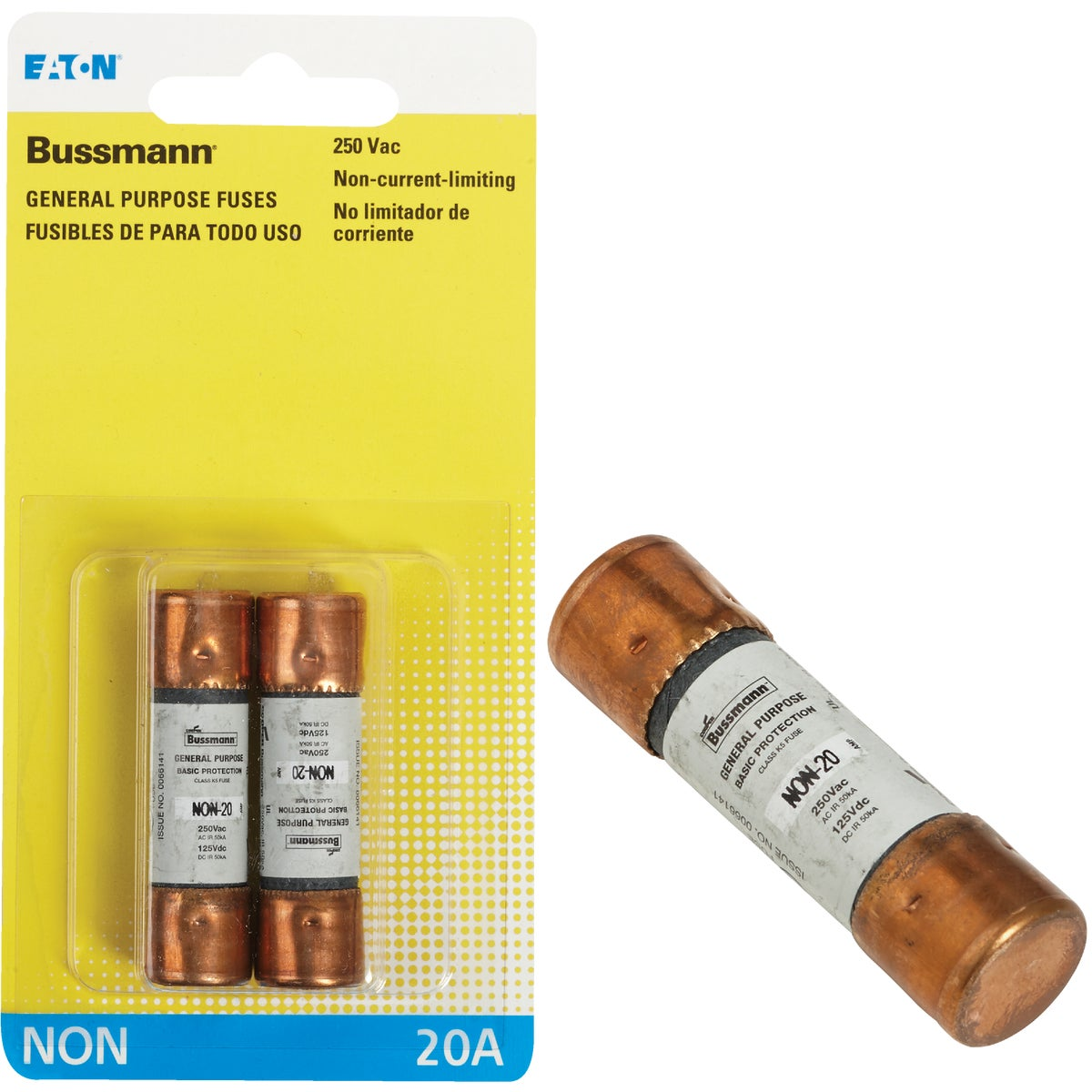 20A NON CARTRIDGE FUSE - BP/NON-20 by Bussmann Cooper