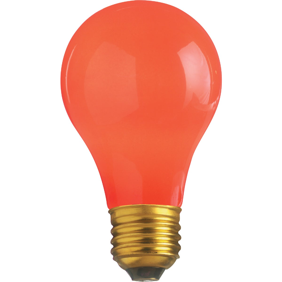 25W RED PARTY BULB - 49727 25A/TR by G E Lighting