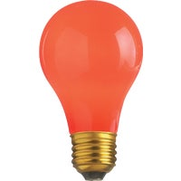 GE Lighting 25W RED PARTY BULB 49727 25A/TR