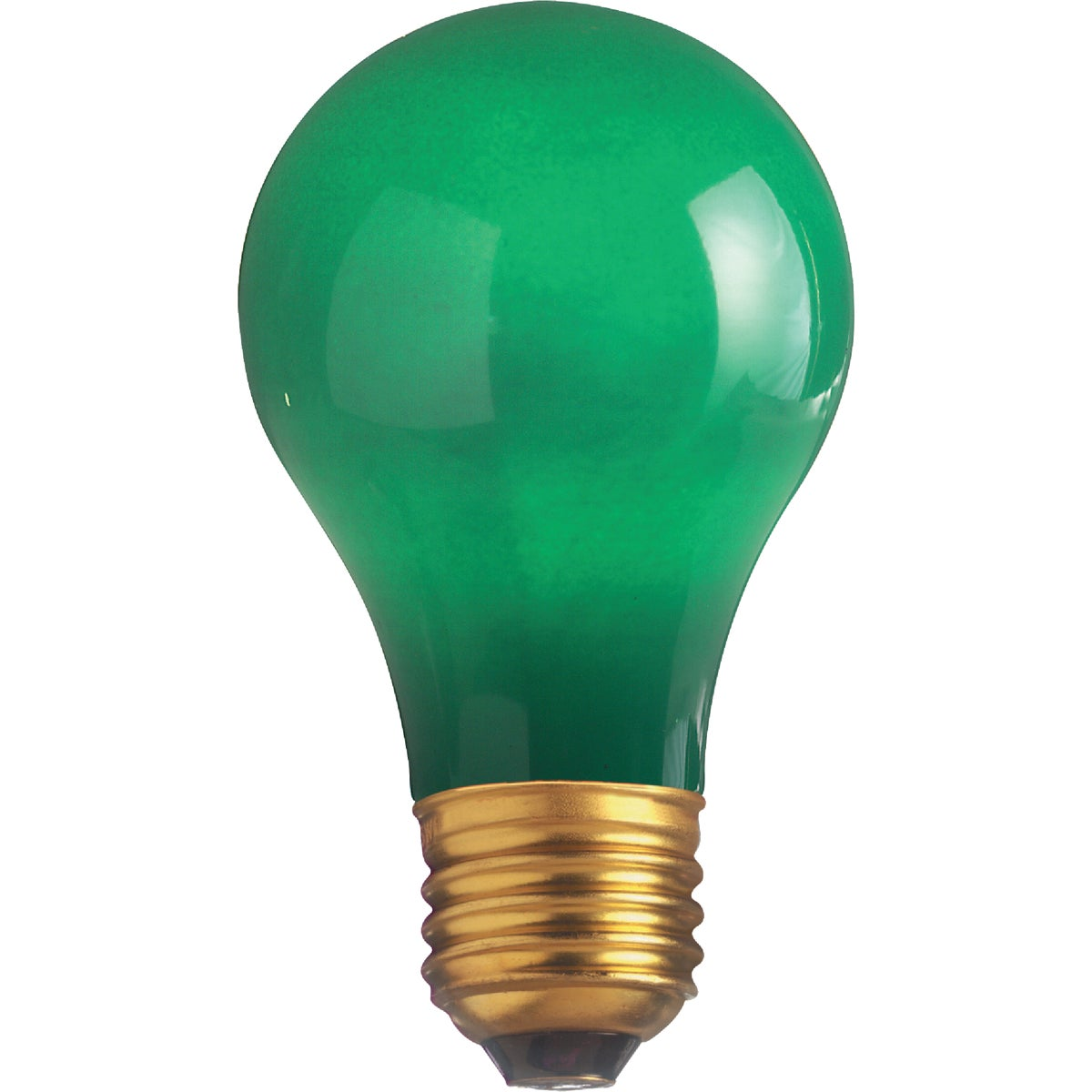 25W GREEN PARTY BULB - 49725 25A/TG by G E Lighting