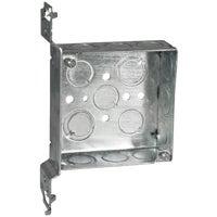 Thomas & Betts 4X4X1-1/2 SQUARE BOX 52151CV1/23/4