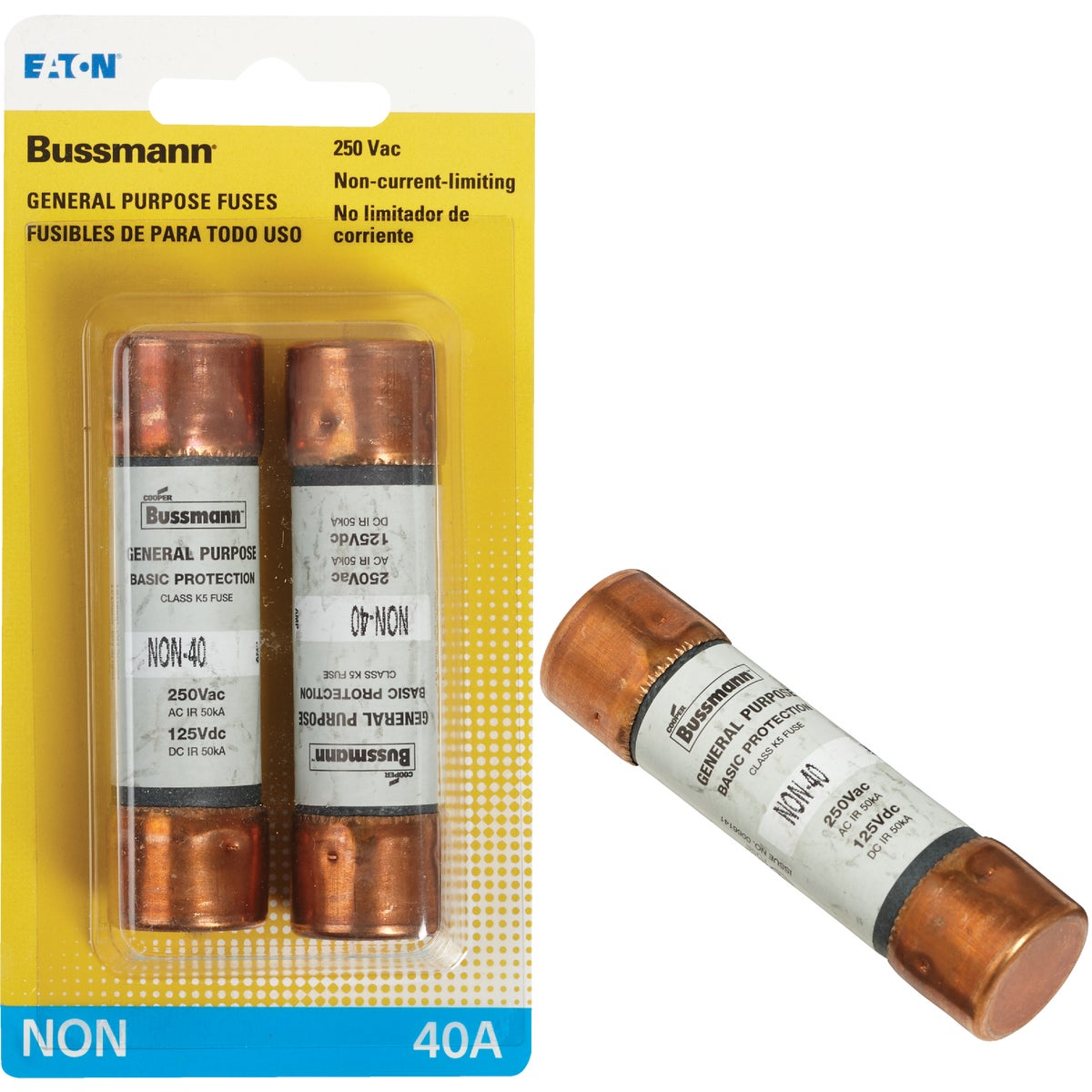 40A NON CARTRIDGE FUSE - BP/NON-40 by Bussmann Cooper