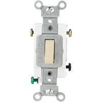 Leviton IV 3-WAY GRND SWITCH R41-CS320-2IS