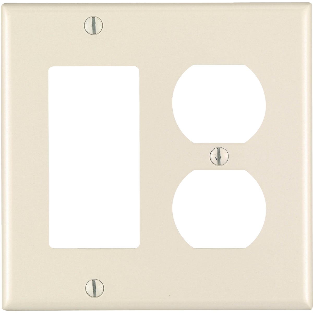 LT ALM DPL/GFI WALLPLATE - 004-80455-OOT by Leviton Mfg Co