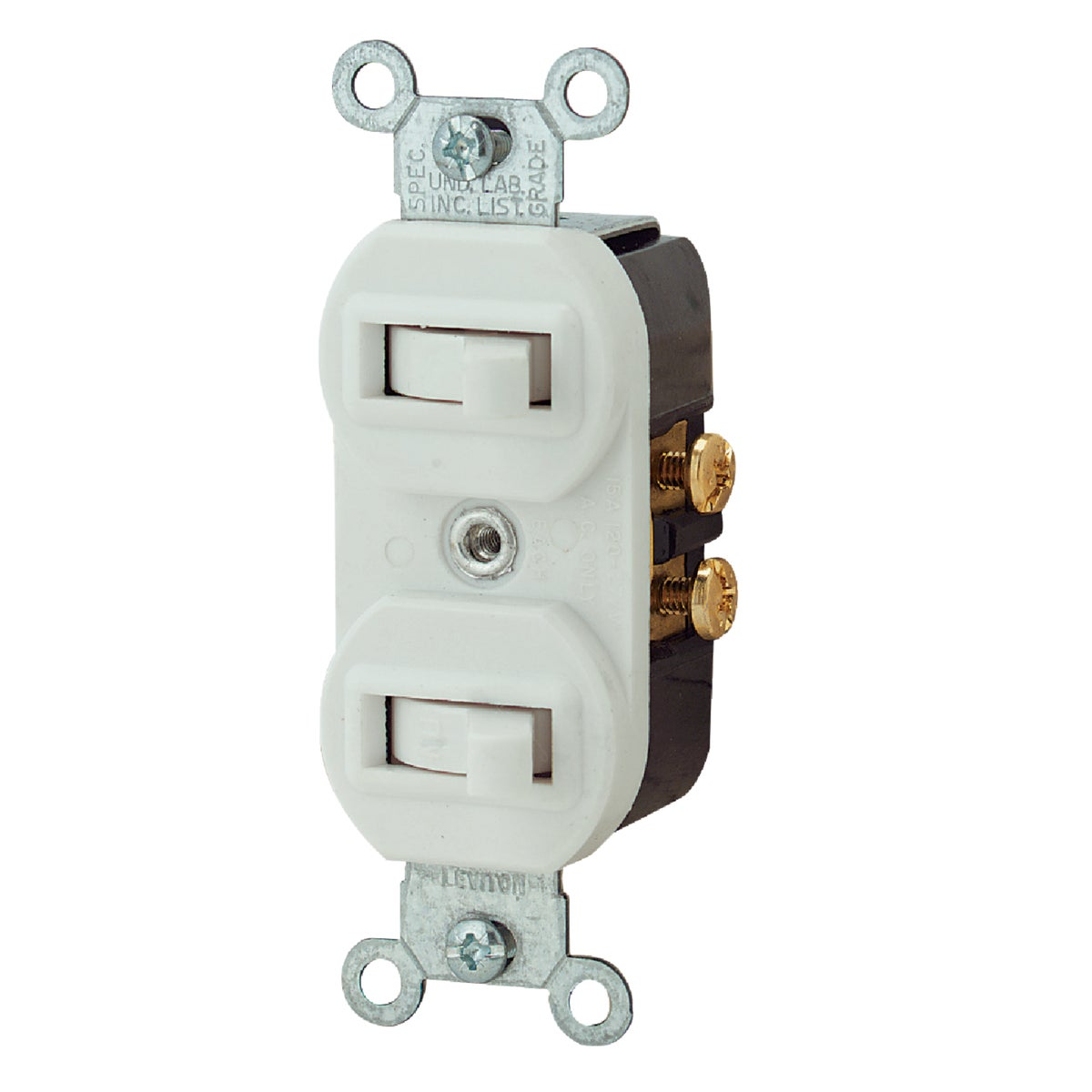 WHT 1POLE/3-WAY SWITCH - R62-5241-WS by Leviton Mfg Co