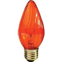 GE Lighting 25W AMBER FLAME BULB 73120 25/FM/A/CF/CD2