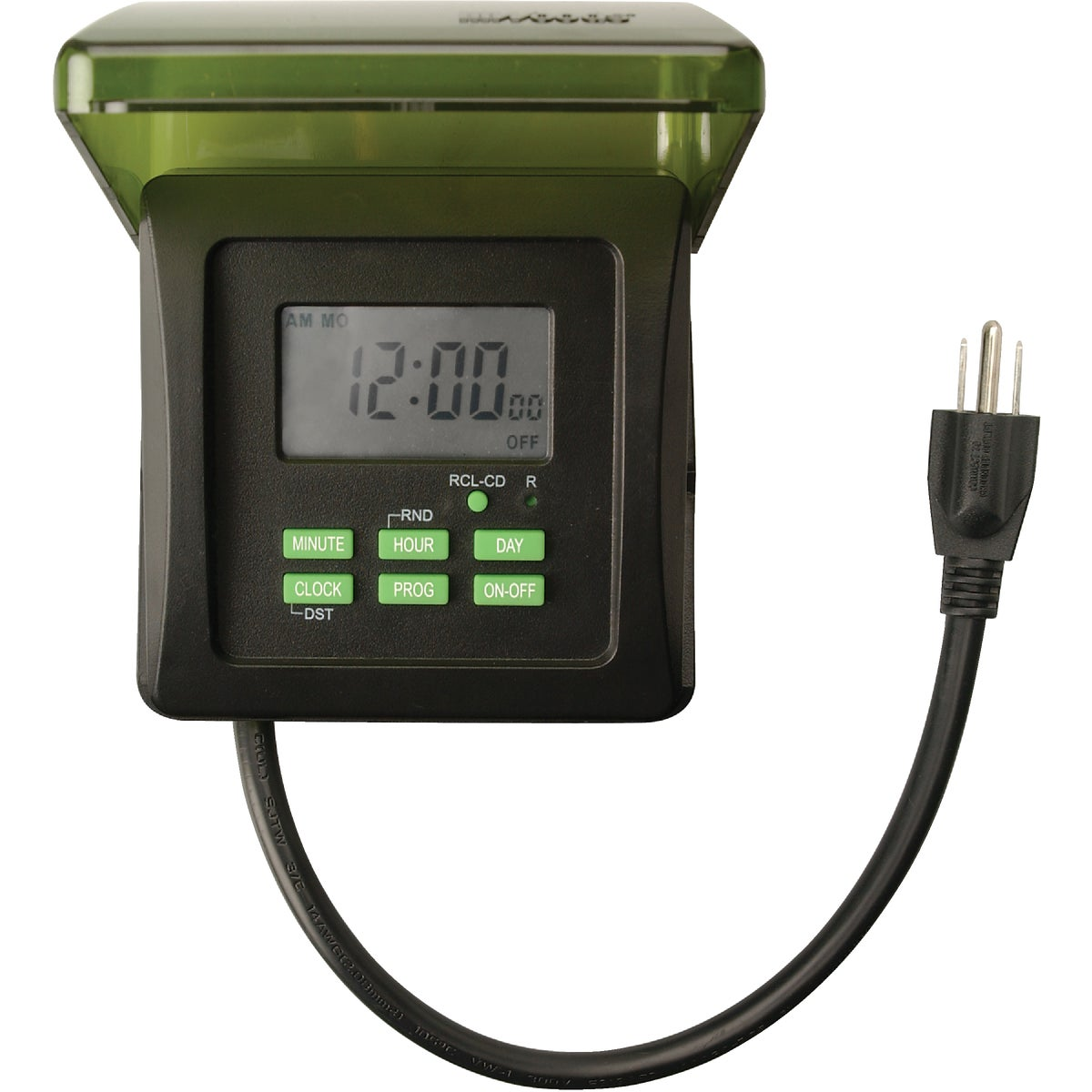 7-DAY OUTDOOR TIMER - 50015 by Woods Wire Coleman