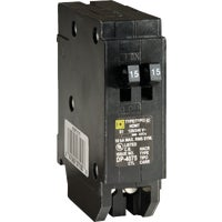 Square D Co. 15A/15A TAND BREAKER HOMT1515CP