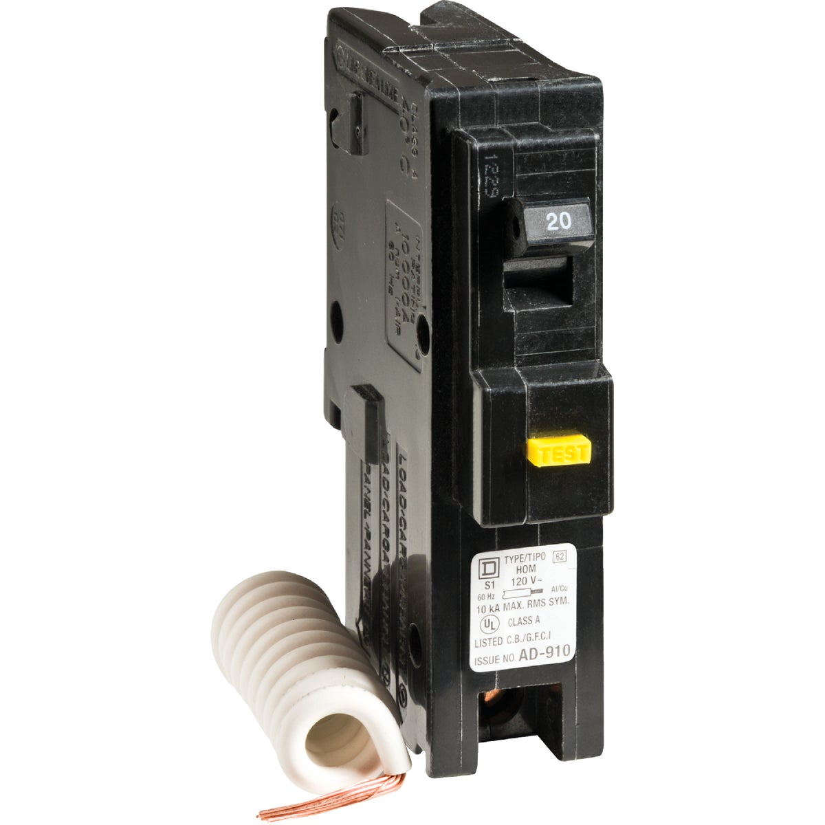 20A BREAKER - HOM120GFICP by Square D Co