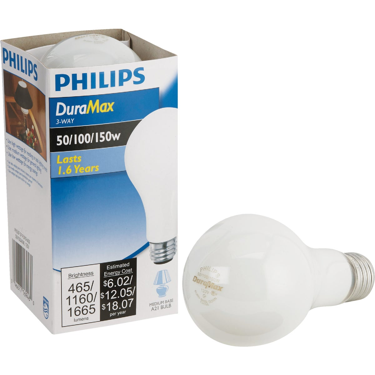 50/150W SW 3-WAY BULB - 97494 by G E Lighting
