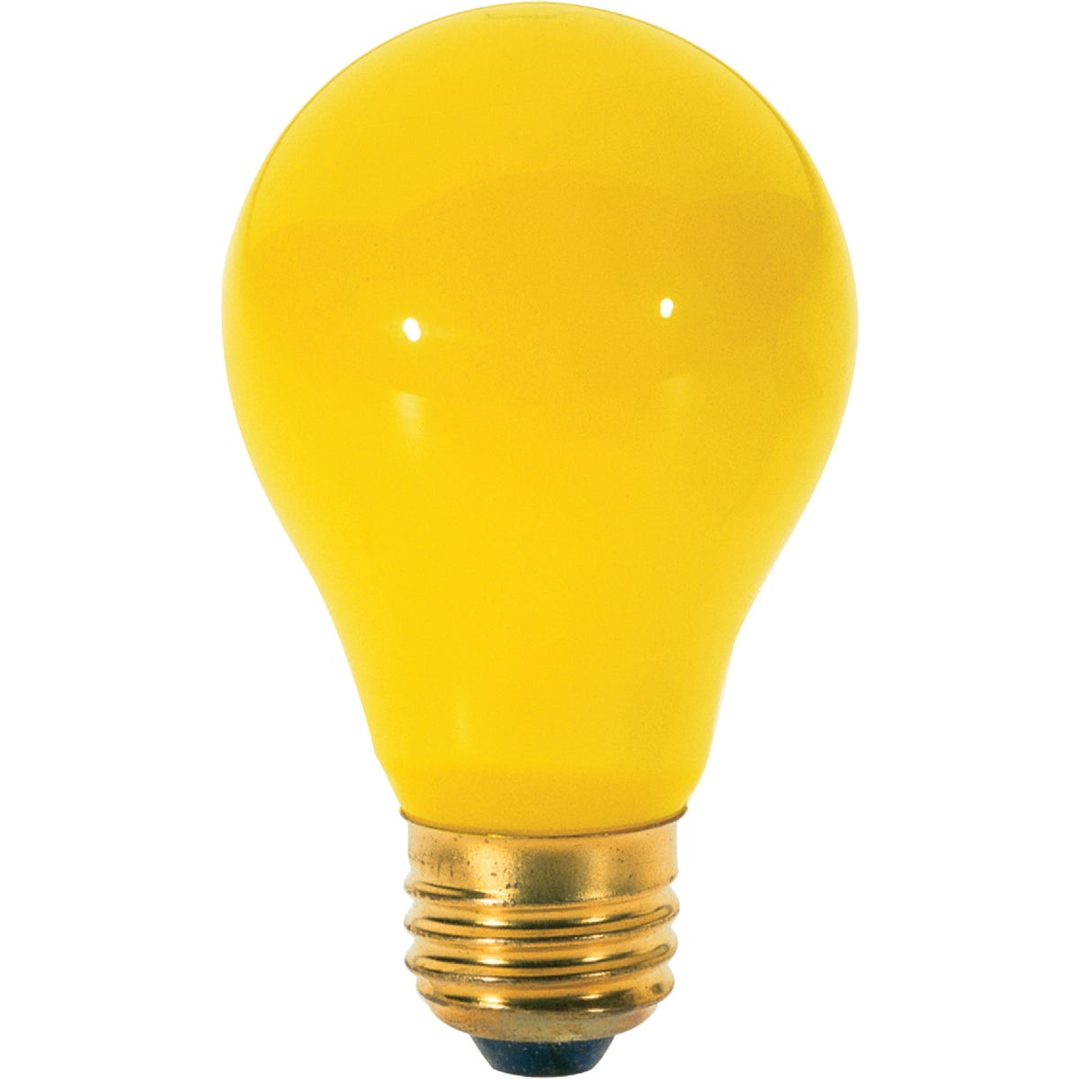 60W 2PK YEL BUG BULB - 97495 by G E Lighting
